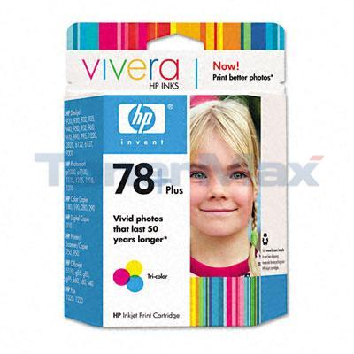HP NO 78 PLUS INK TRI-COLOR
